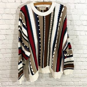 Vintage Cosby Style Sweater